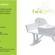 twogether culla dondolo
